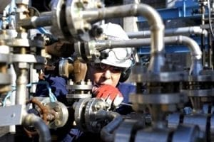 industrial boiler operation