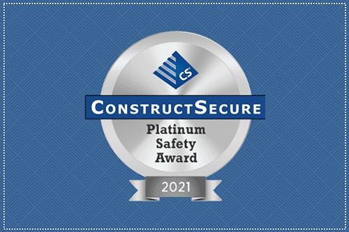 ChemTreat Receives Platinum Safety Award from ConstructSecure Risk Management Platform