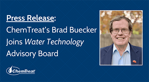 ChemTreat's Brad Buecker Joins Water Technology Advisory Board